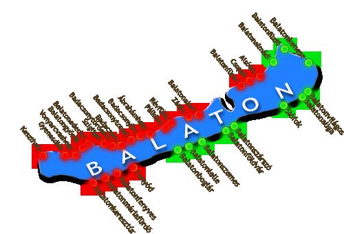 balaton szolgáltatási terület
